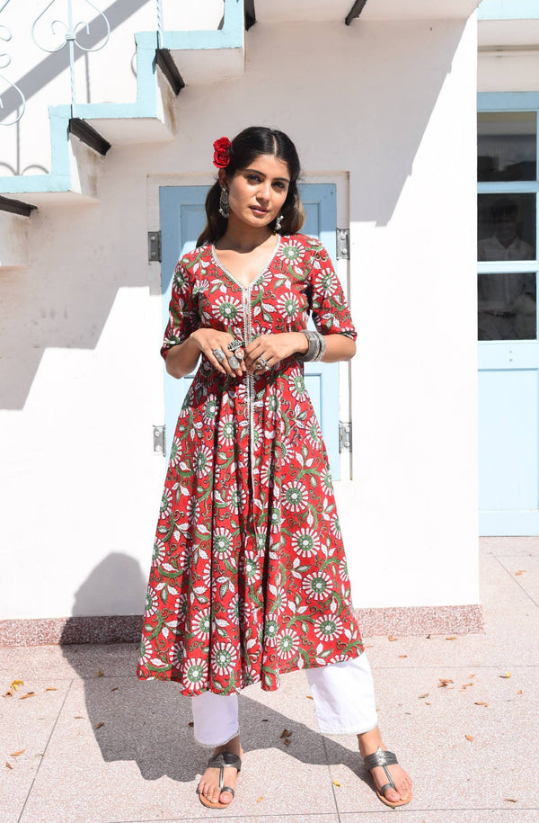 JAIMINI-  COTTON 2 PIECE KURTA SET