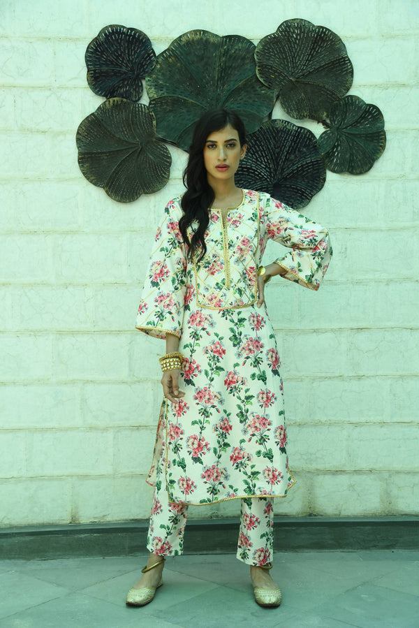 MUSKAAN-2 PIECE KURTA SET