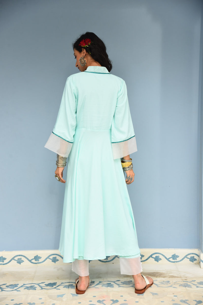 ZAINAB- PURE RAYON 2 PIECE KURTA SET