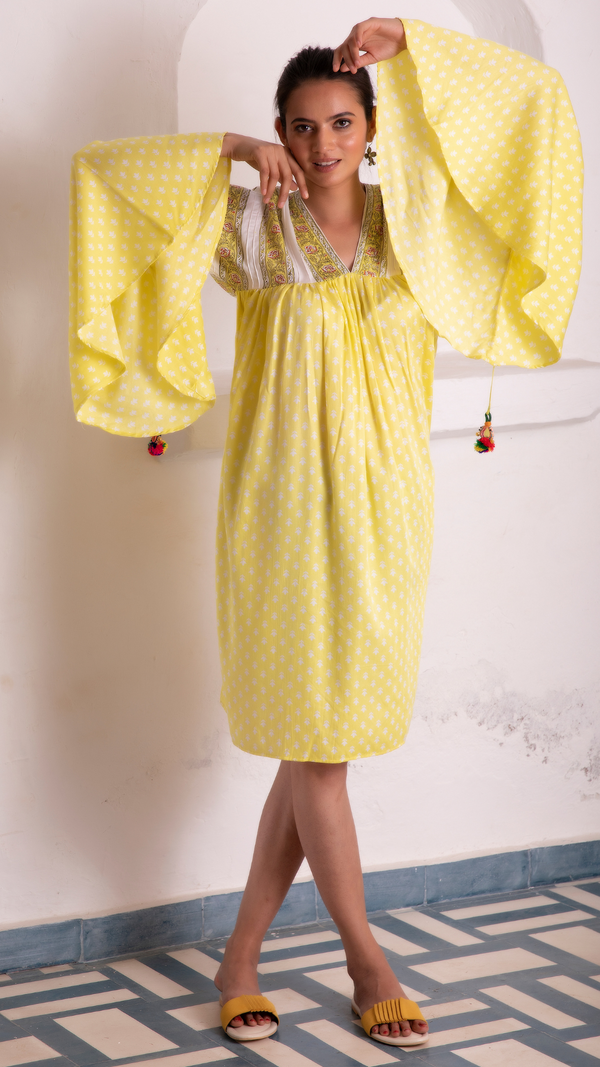 Sayonee Silk Dress