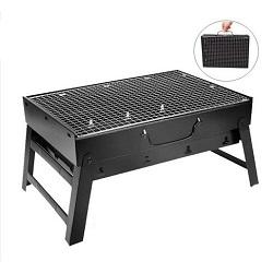 Convenient Foldable Charcoal Grill - AkasakaPH