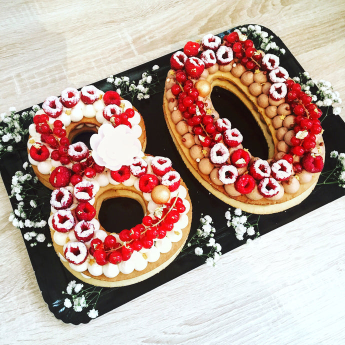 NUMBER CAKE 12 personnes
