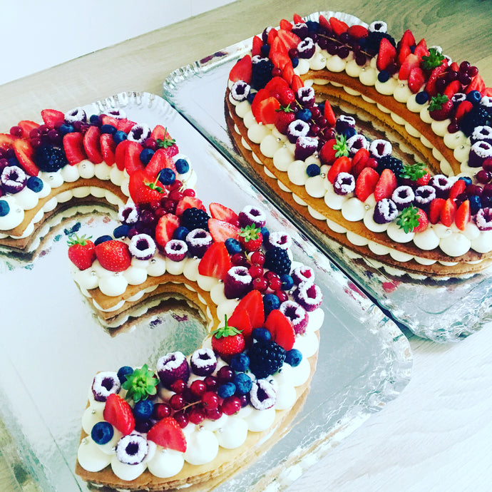 NUMBER CAKE 20-25 personnes