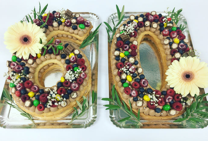 NUMBER CAKE 25 personnes