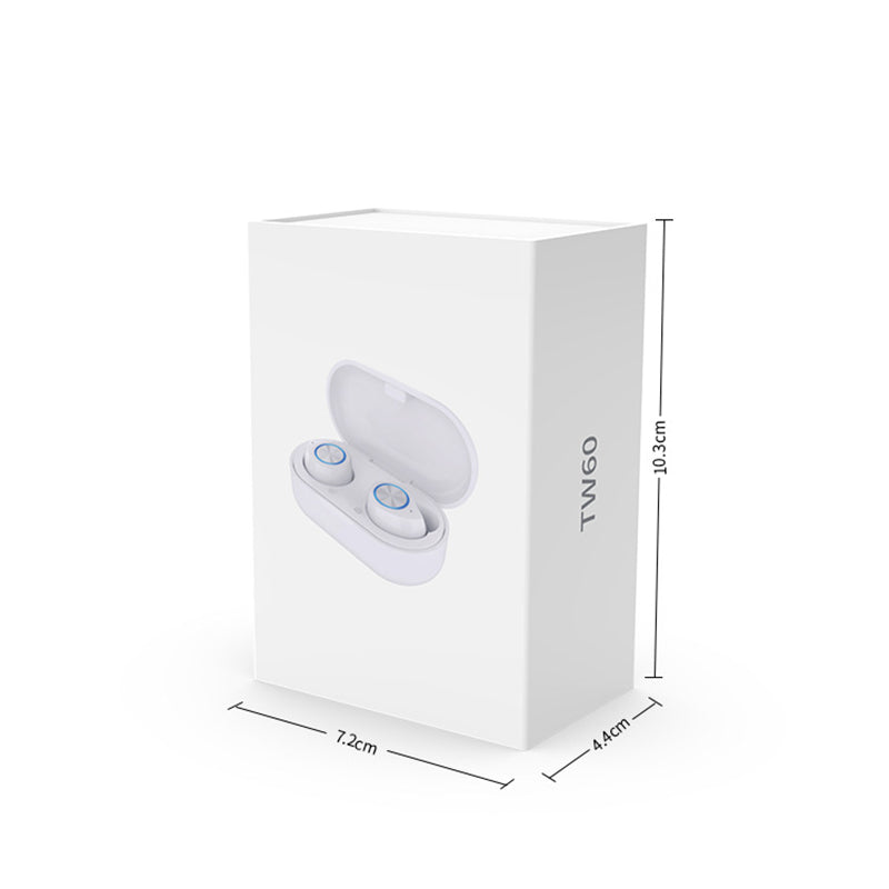 Brief Solid Color Wireless Ear Bluetooth Headset