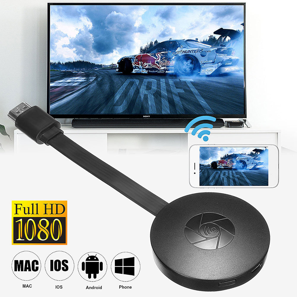 (Hot🔥🔥🔥)MiraScreen TV Stick HDMI WiFi Display Receiver Dongle Support Iphone/Windows/Andriod/Miracast DLNA Airplay Mode