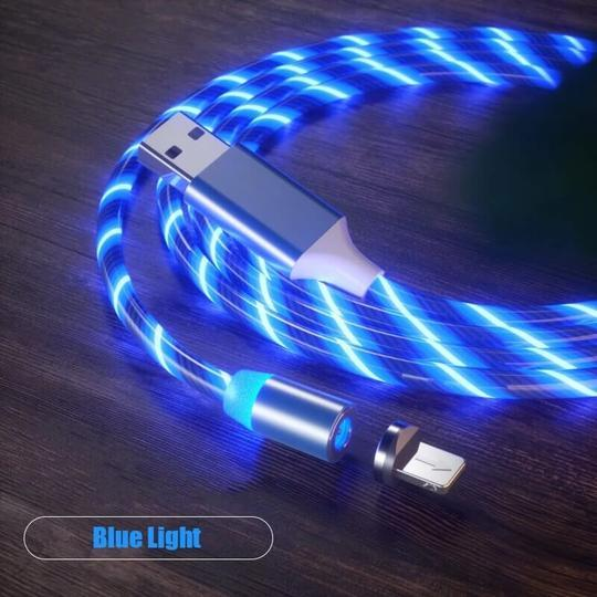 3-in-1 Firefly LED Magnetic Charging Cable