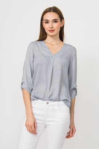 Collosum grey blouse - Shop Station EG
