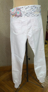 Desigual white trouser - Shop Station EG