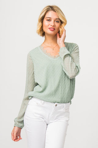 Colloseum Bluse Maddy Green - Shop Station EG