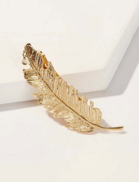 Feather Shaped Hair Clip - Shop Station EG