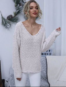 Popcorn Knit Sweater - Shop Station EG