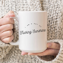 Load image into Gallery viewer, I am a Ray of Fucking Sunshine Mug