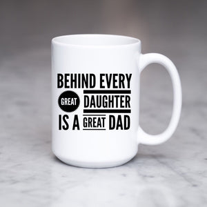 Behind every great daughter is a great Dad