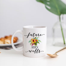 Load image into Gallery viewer, Future Mrs Tropical Floral Mug