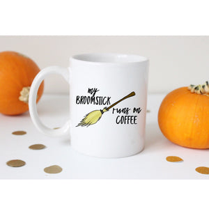 My Broomstick runs on Coffee