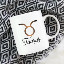Load image into Gallery viewer, Taurus Zodiac Astrology Birthday Mug