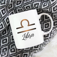Load image into Gallery viewer, Libra Zodiac Astrology Birthday Mug