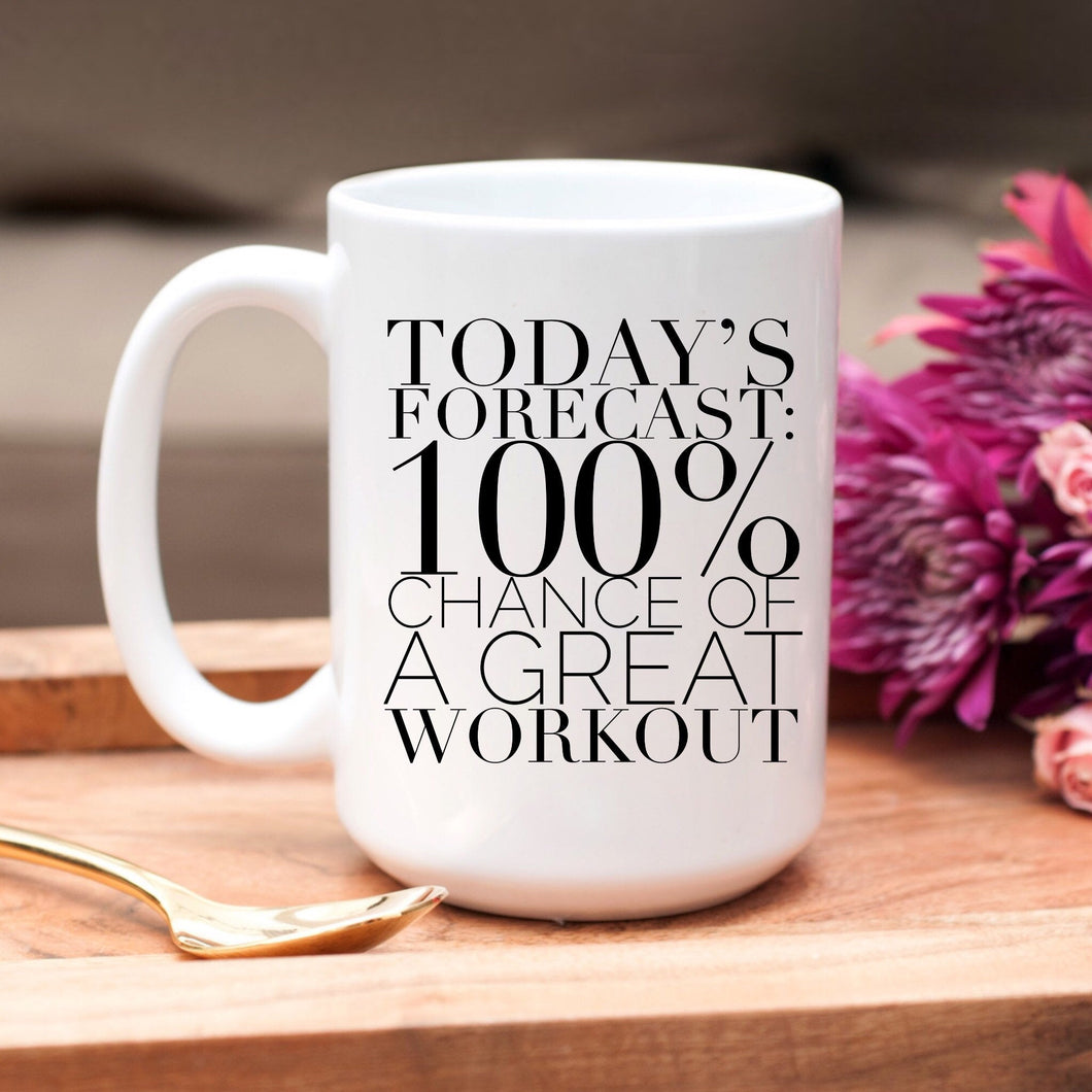 Today's Forecast: 100% chance of a great workout
