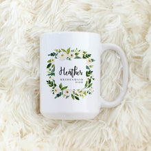 Load image into Gallery viewer, Custom Bridesmaids Name Mug