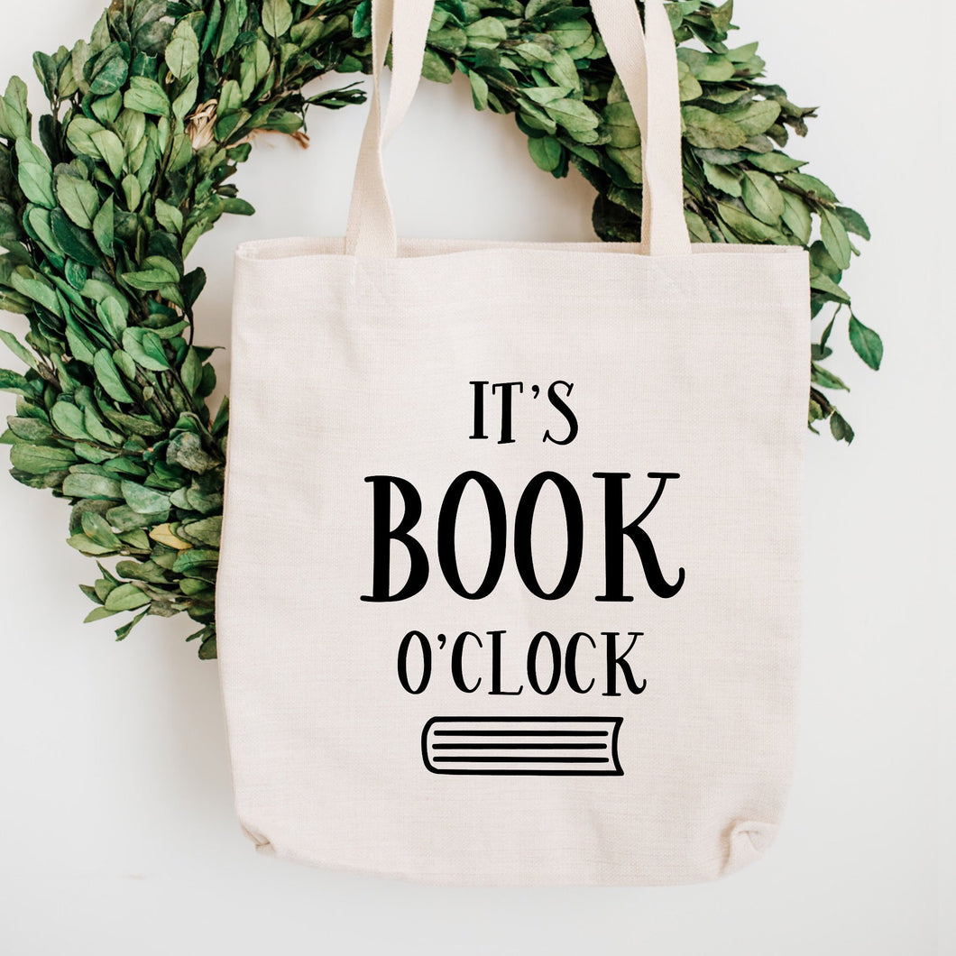 It's Book O'Clock