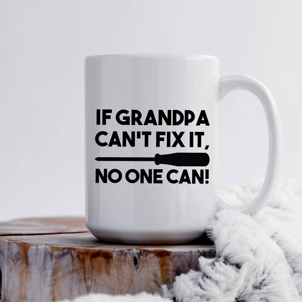 If Grandpa Can't Fix it, No One Can!