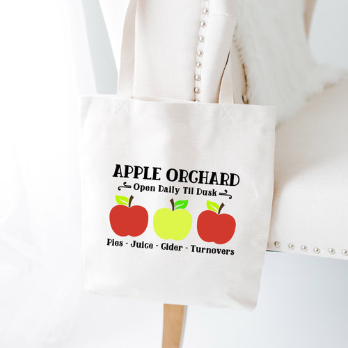Apple Orchard Fall Tote