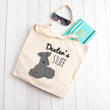 Load image into Gallery viewer, Custom Dog Stuff Tote Bag (Large Dogs)
