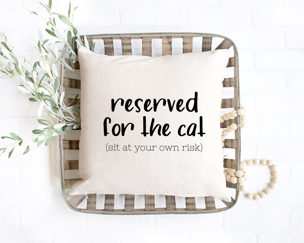 Reserved for the Cat (sit at your own risk)