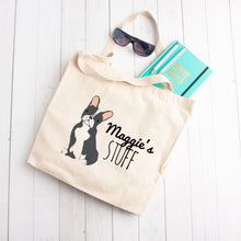 Load image into Gallery viewer, Custom Dog Stuff Tote Bag (Small Dogs)