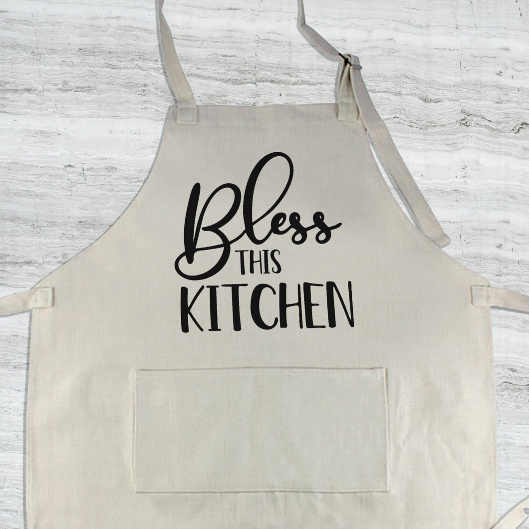 Bless this Kitchen Apron