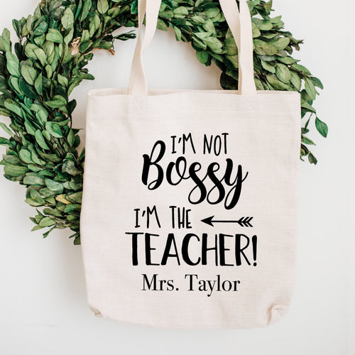 I'm not Bossy, I'm the Teacher