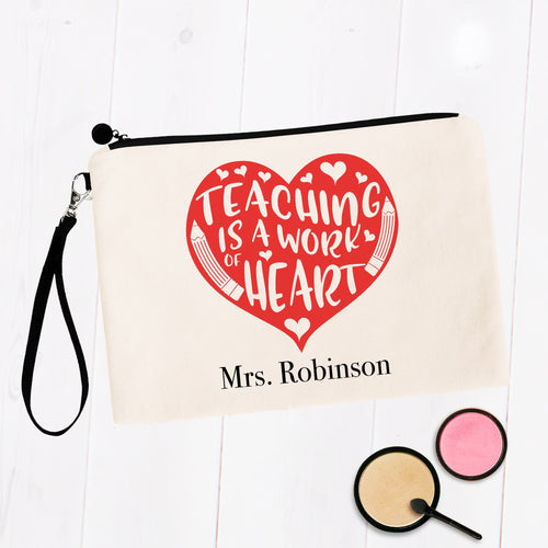 Teaching is a Work of Heart Custom Name