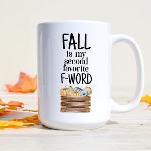 Fall is my Second Favorite F-Word