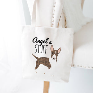 Custom Dog Stuff Tote Bag (Medium Dogs)