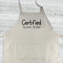 Load image into Gallery viewer, Certified Water Boiler Apron