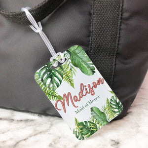 Tropical Vacation Custom Luggage Tag