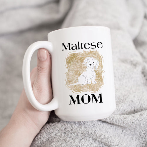 Small Dog Mom Mug