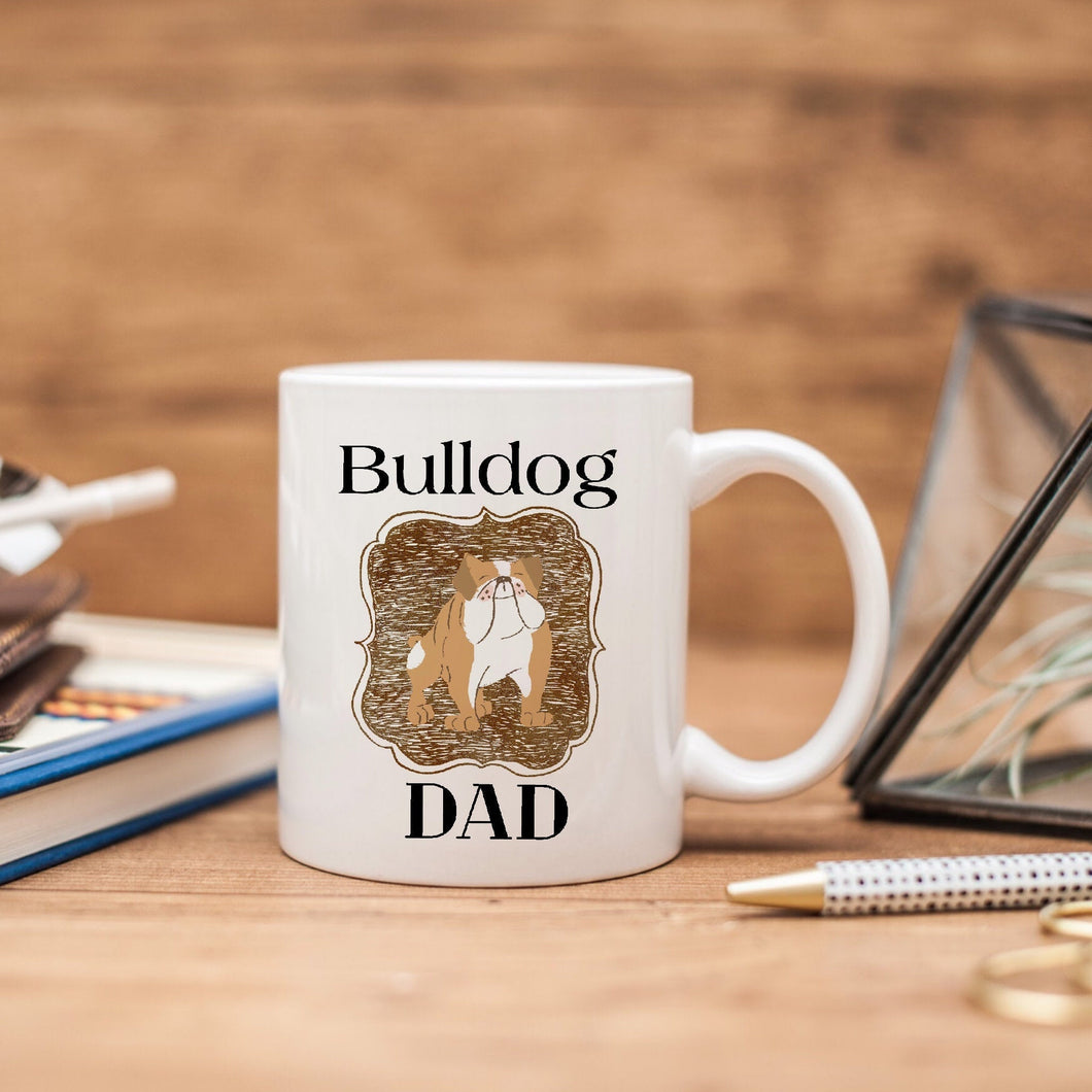 Medium Dog Dad Mug