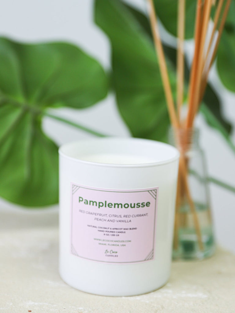 Pamplemousse - candle - MODE Revolution -Sustainable Fashion