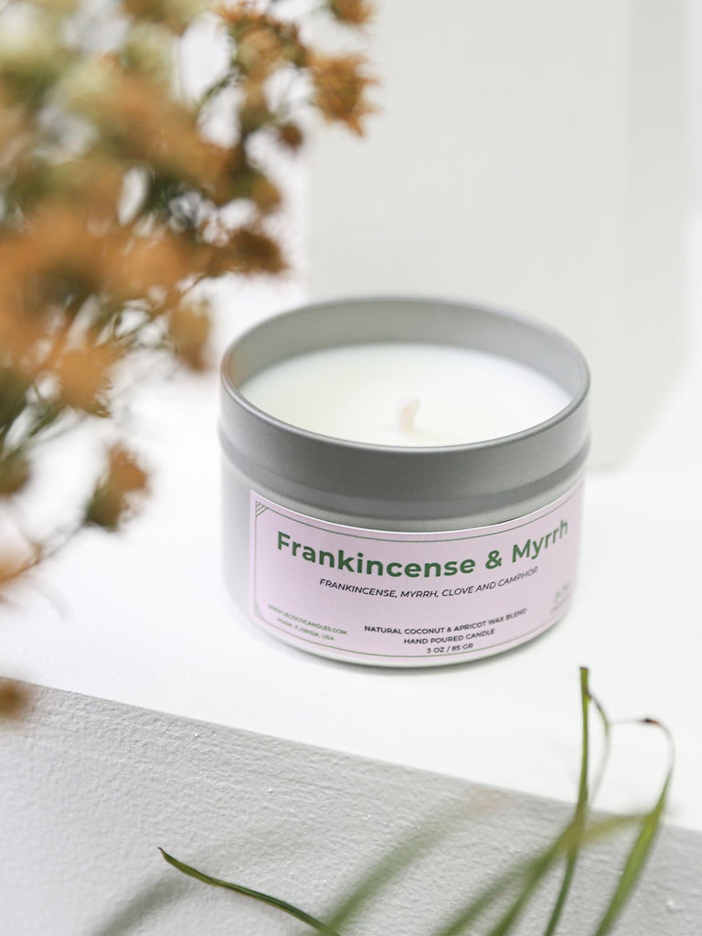 Frankincense and Myrrh Candle - candle - MODE Revolution -Sustainable Fashion
