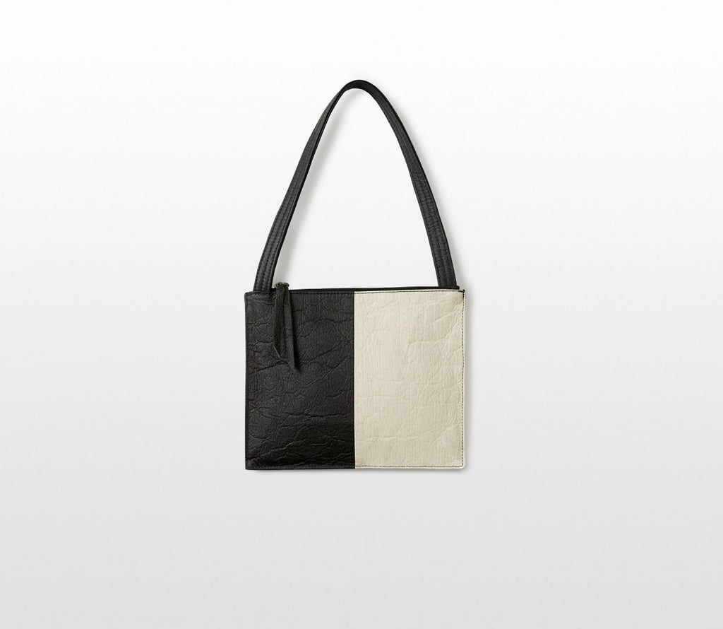 Pocket Block • Charcoal+ Natural -  - MODE Revolution -Sustainable Fashion
