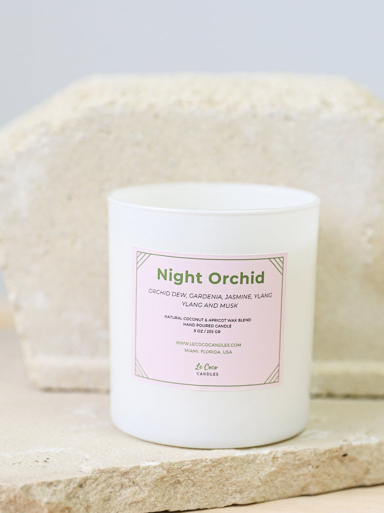 Night Orchid - candle - MODE Revolution -Sustainable Fashion