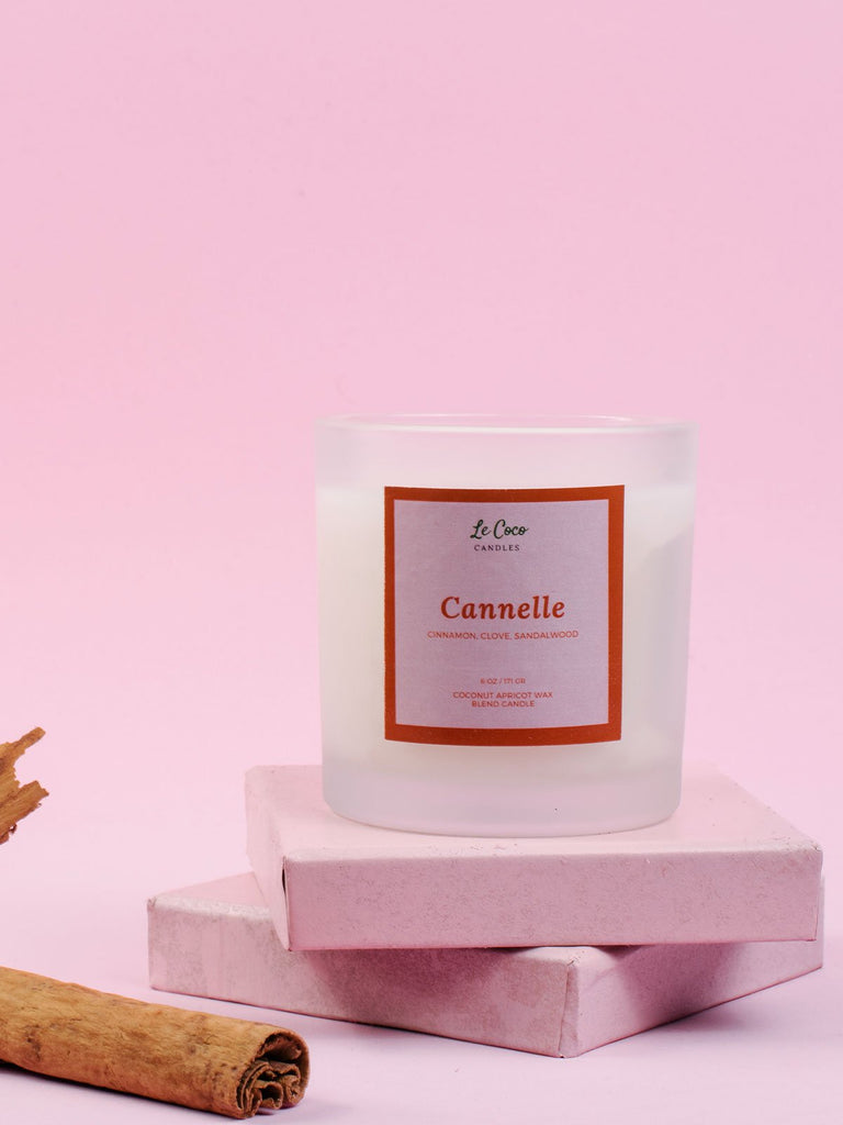 Cannelle - candle - MODE Revolution -Sustainable Fashion