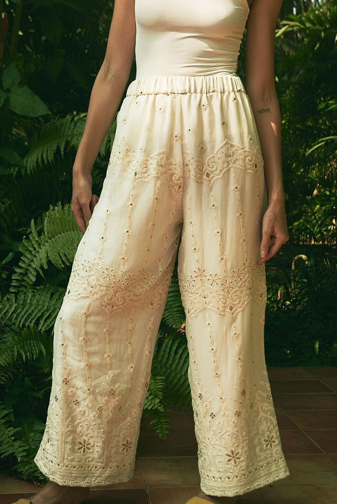 Enchanted Palace High Waisted Pants - pants - MODE Revolution -Sustainable Fashion