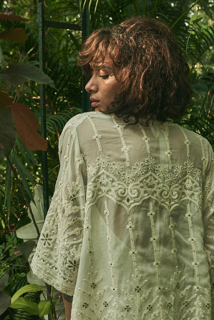 Enchanted Palace Short Kimono - Kimono - MODE Revolution -Sustainable Fashion