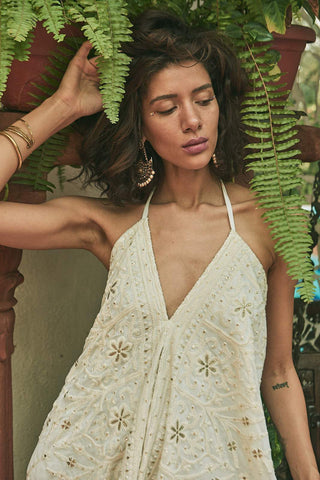 Enchanted Palace Maxi Dress - dress - MODE Revolution -Sustainable Fashion