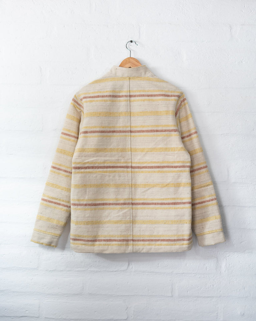 Handspun Wool Tambo Jacket - Sunset -  - MODE Revolution -Sustainable Fashion