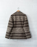 Tambo Wool Jacket Andes Pattern - Gray -  - MODE Revolution -Sustainable Fashion