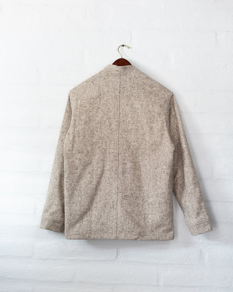 Tambo Wool Jacket -  Gray -  - MODE Revolution -Sustainable Fashion